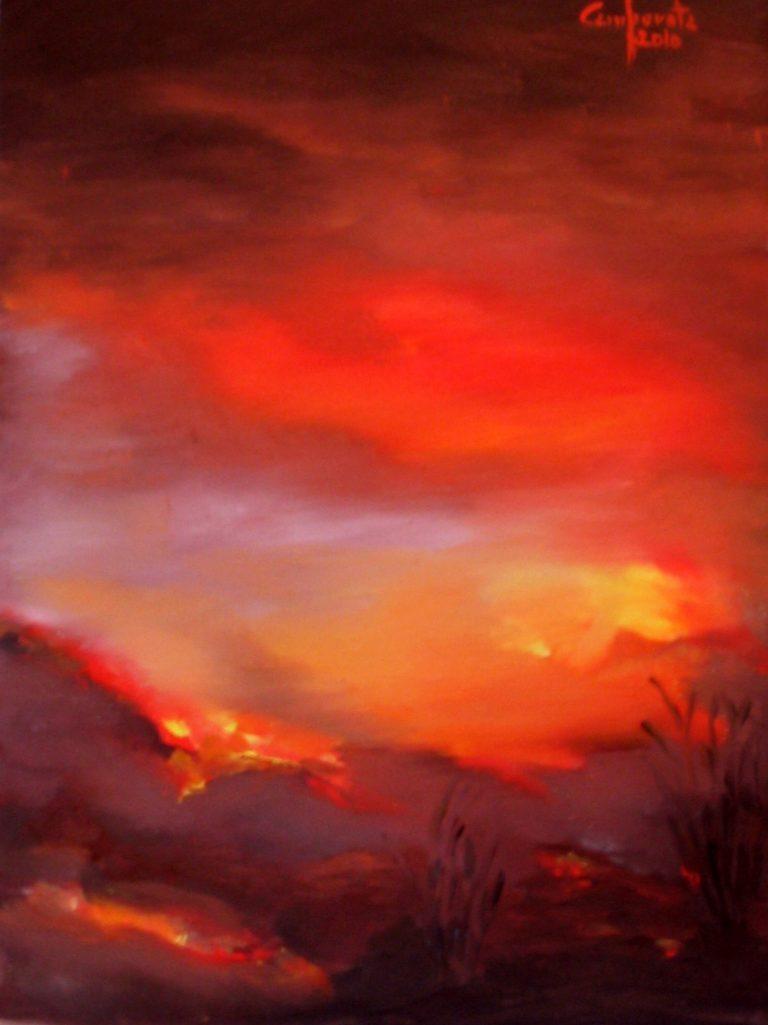 Alba di fuoco